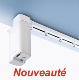 Tringle silent gliss motoris e 5600 for Rideau interieur electrique